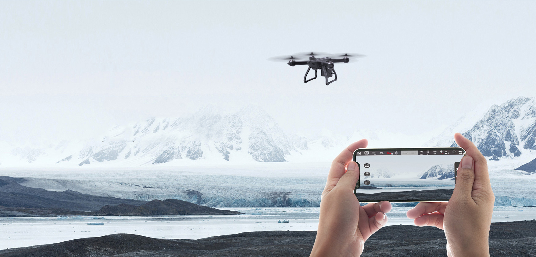 HS700 Drone Altitude Hold