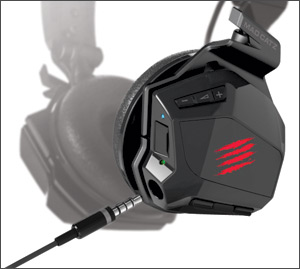 Wireless headphones bluetooth neckband - Mad Catz F.R.E.Q. M Mobile Stereo Headset - headset Overview
