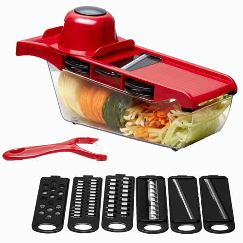 Yosoo 7in1 Mandoline Slicer Vegetable Food Slicer Kitchen Chopper Cutter Friut Tomato