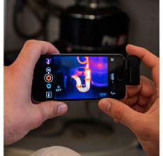 Seek Thermal Imaging Camera for iPhone 5 & 6 with Lighting Connector / iOS7.0+