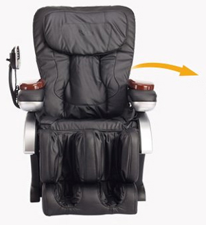 BestMassage BM EC06C Electric Full Body Shiatsu Massage Chair Recliner With  Stretched Foot Rest   Black   Newegg.com