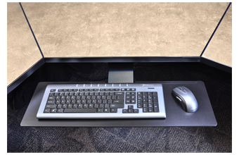 Ergotron Neo-Flex Underdesk Adjustable Keyboard Arm platform - 97-582-009