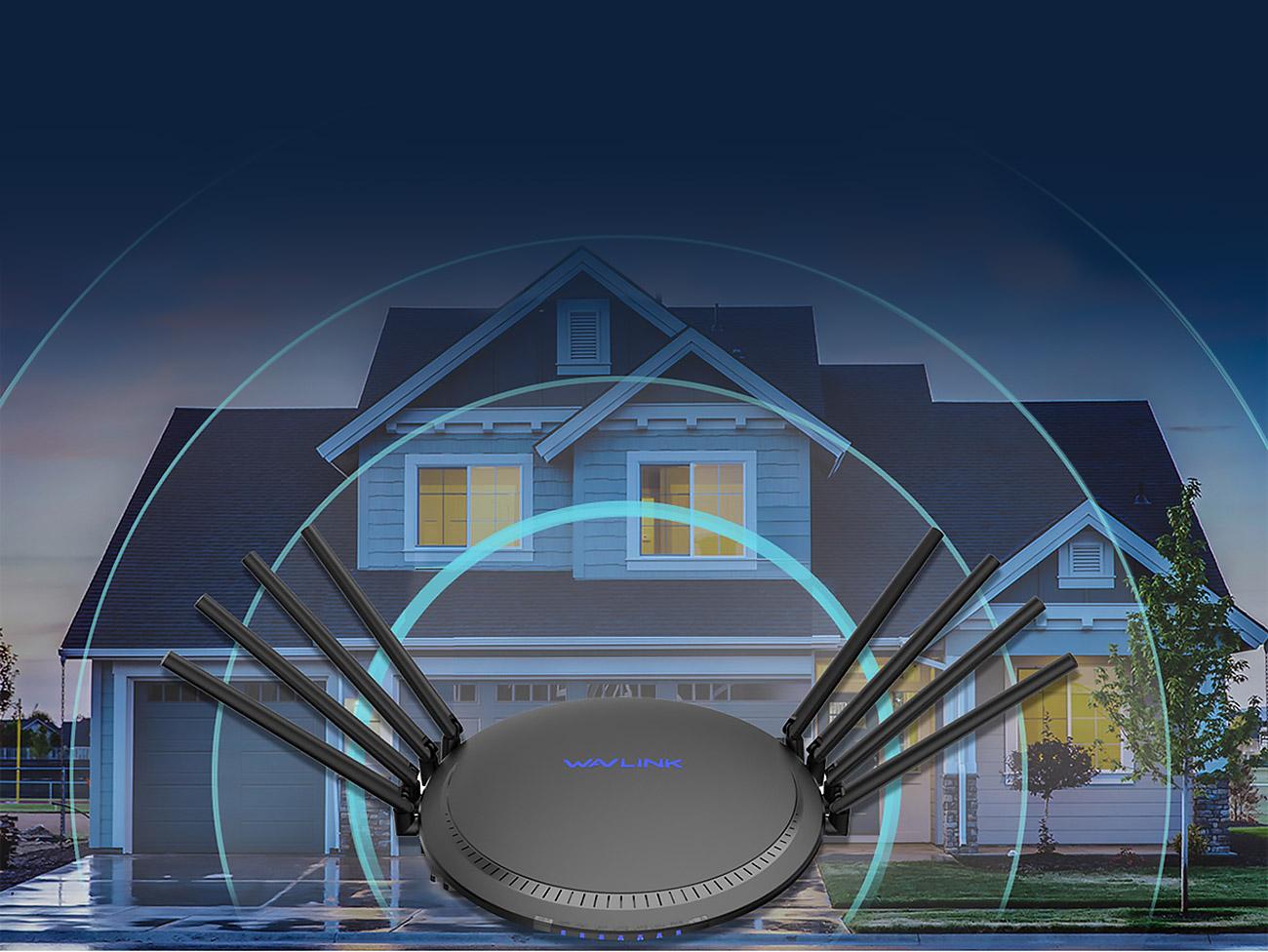 8 x 5dBi High Gain Antennas-Full Coverage