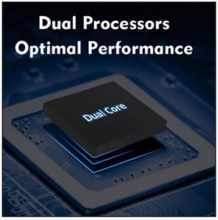 Dual Processors Optimal Performance
