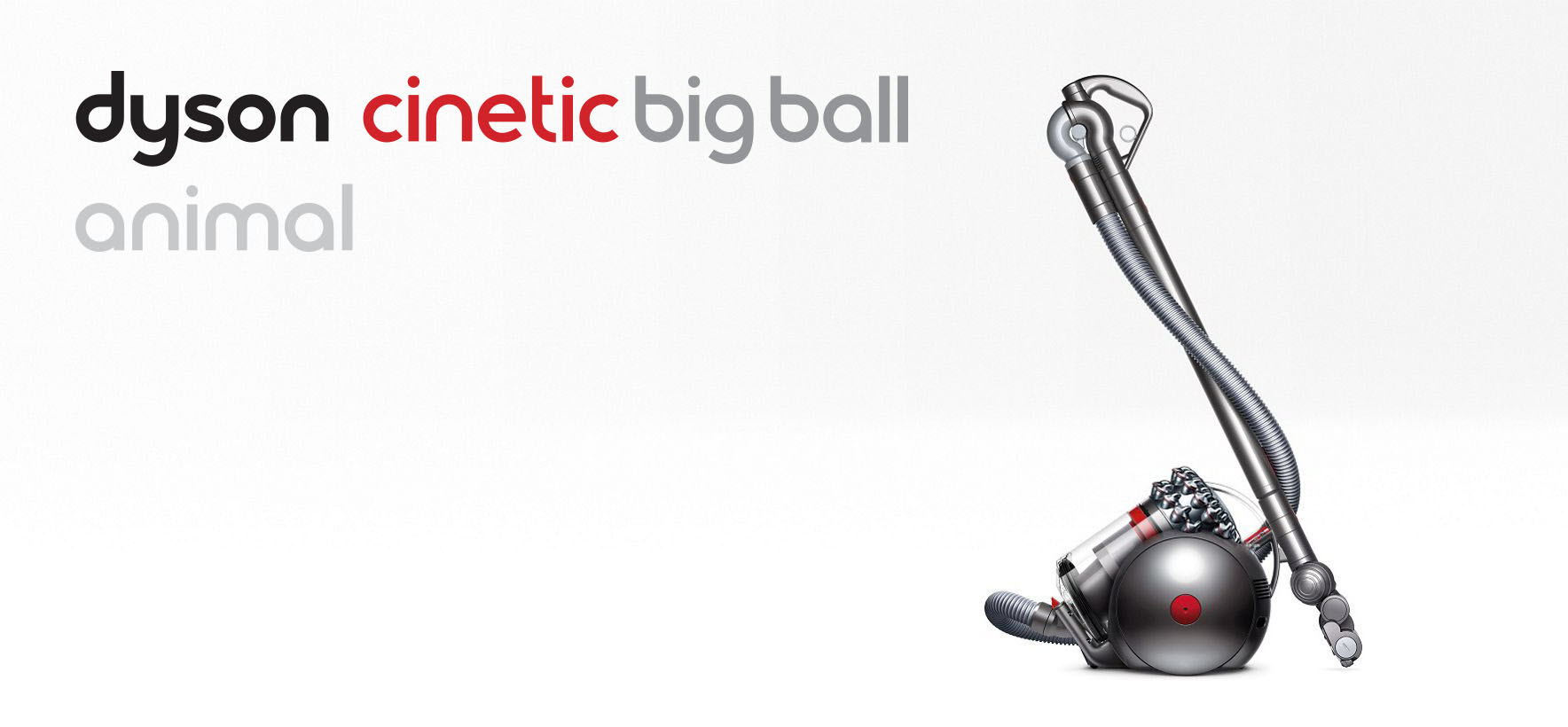 side view of Dyson Cinetic Big Ball Animal vacuum cleaner
