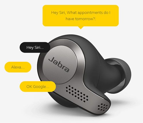 Jabra Evolve 65t Ms True Wireless Earbuds Newegg Com