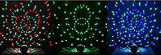 NEK TECH 9- Color Ball Bluetooth Speaker Crystal Super LED Strobe Bulb