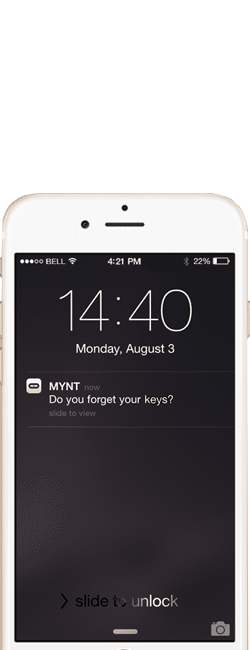 MYNT Smart Tracker & Remote