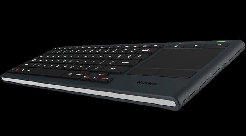 Logitech K830 Wireless Illuminated Living Room Touch Keyboard   920 007182    Newegg.com