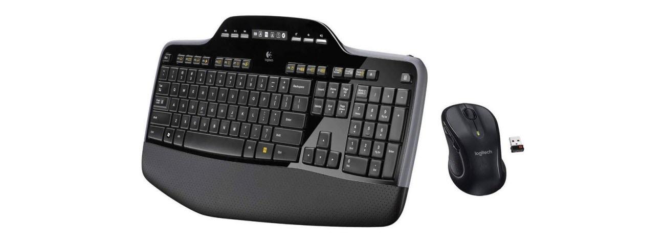 Warranty Grade A Logitech Wave MK550 Desktop Wireless Keyboard /& Laser Mouse