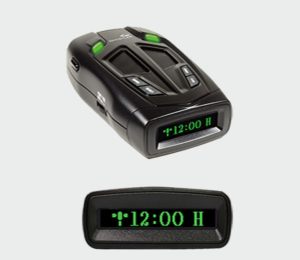 Whistler Z-31R+ Laser Radar Detector with Real Voice Alerts and GPS Red-Light Camera Detection