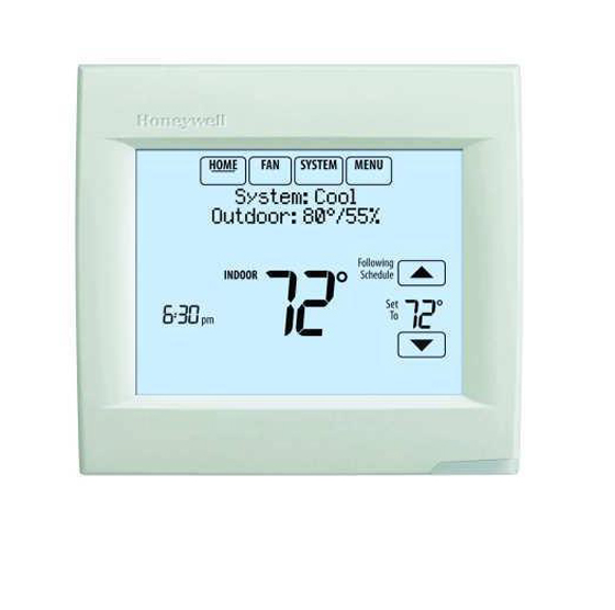 Honeywell TH8320R1003 VisionPRO 8000 Arctic White Touch Screen ...
