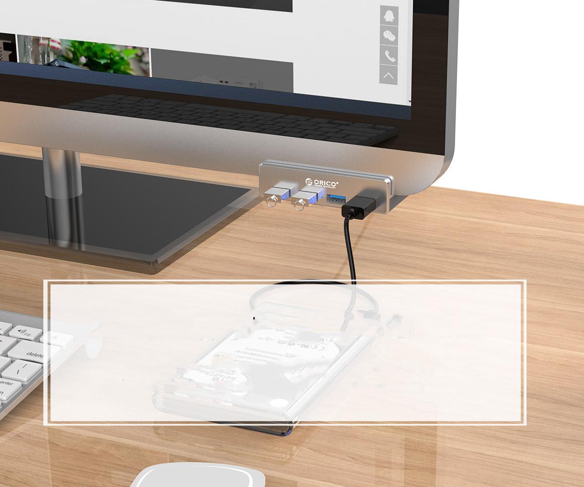 ORICO USB3.0 Clip-type HUB