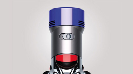 the working mode switch button on Dyson V7 Fluffy