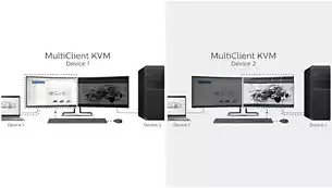 different effect between Built-in KVM