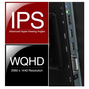 Nixeus EDG 27inch  IPS 2560×1440 AMD FreeSync™ Certified 144Hz Monitor