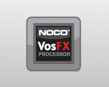 POWERED BY NOCO'S VosFX PROCESSOR