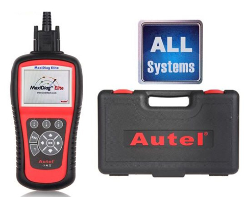 Engine+AT+ABS+Airbag Autel MaxiDiag MD802 For 4 System +EPB+OIL Reset French
