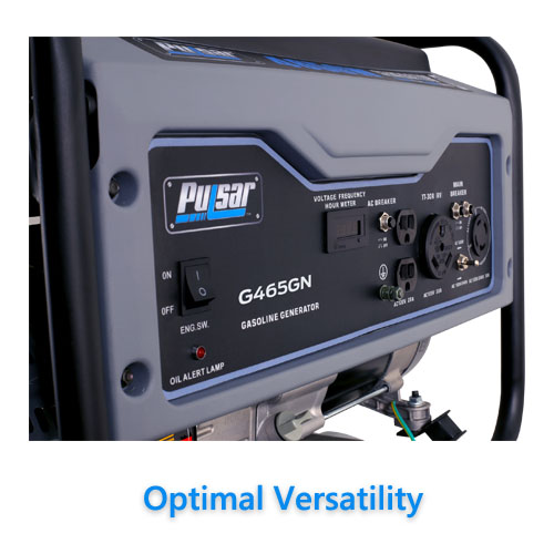 Pulsar 4650W Portable Gas Powered Generator