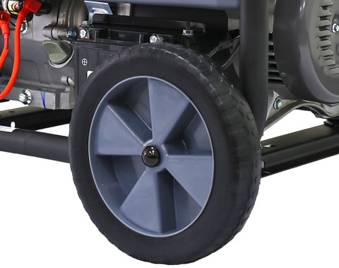 Pulsar 10,000W Dual Fuel Portable Generator in Space Gray