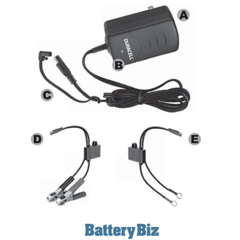 Duracell 1 Amp Battery Maintainer/Charger