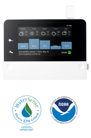 RainMachine HD-12 - The Forecast Sprinkler - Smart WiFi Irrigation  Controller  12 Zones  6 5