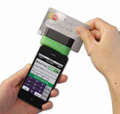 Shuttle 2-Track Secure Mobile MagStripe Reader