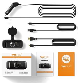Vantrue OnDash R2 2K HD Dash Cam