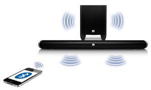 JLB Cinema SB350 320W home cinema soundbar with wireless subwoofer, virtual surround and HDMI