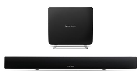 Sabre SB35 Slim Surround Soundbar with 100W Wireless Subwoofer