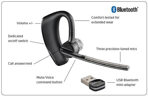 Plantronics Voyager Legend Uc M Mono Bluetooth Headset Newegg Com