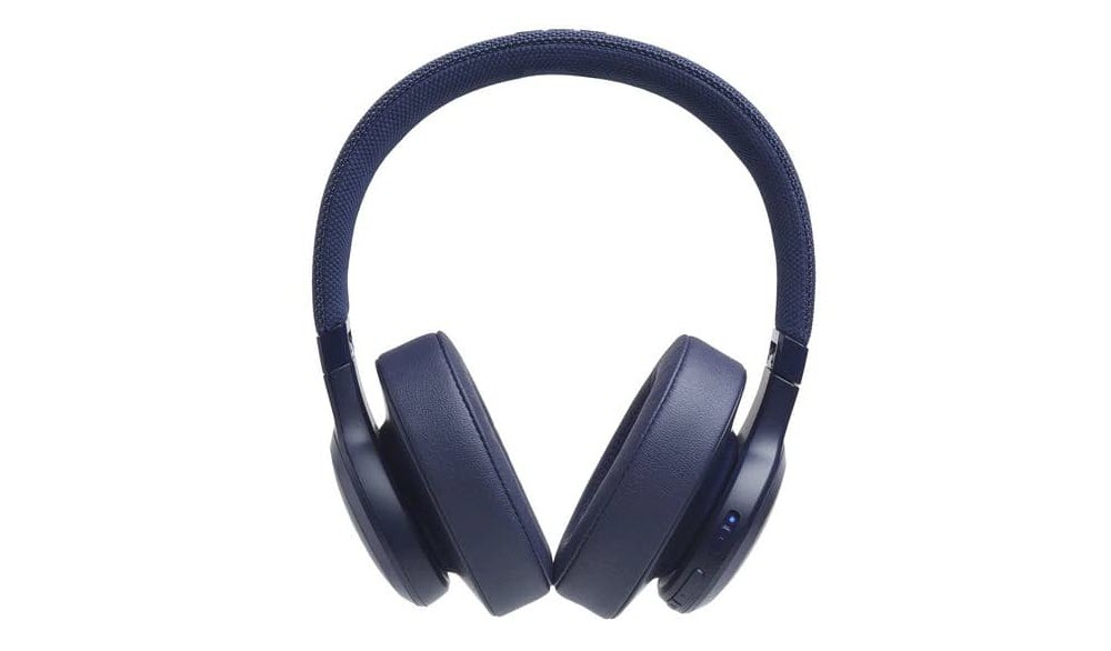 Jbl Live 500bt With Google Alexa Voice Bluetooth Over Ear Headphones Blue Newegg Com