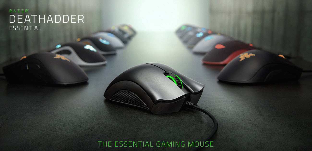 THE ESSENTIAL GAMING MOUSE