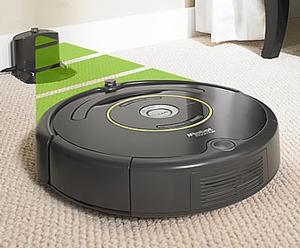 Refurbished: iRobot R650020 Roomba 650 Vacuum Cleaning Robot - Black and  White - Newegg com