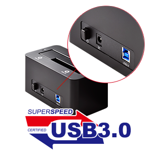 Tool-Free Dock for any SATA Hard Drive or SSD