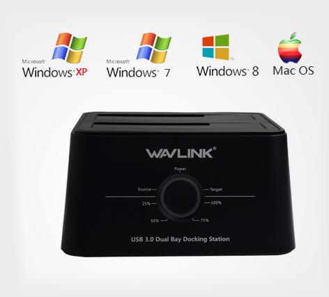 Wavlink 12TB Universal USB 3.0 Dual Bay
