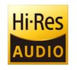 Icon for High Resolution Audio