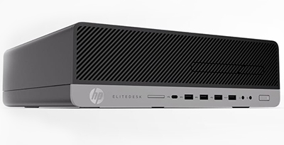 HP EliteDesk 800 G3 SFF Desktop Computer 1FY88UT - Intel Core i7 (7th Gen)  i7-7700 3 60 GHz - 8 GB DDR4 SDRAM - 1 TB HDD - Windows 10 Pro 64-Bit