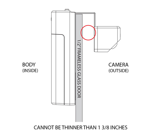 Remo Dcm1m Doorcam Wi Fi Wireless Video Over The Door