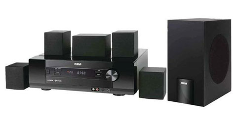 RCA RT2781H 5.1 Home Theater System - 1000 W RMS - Newegg.com