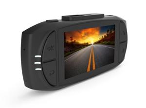 SANSCO Ultra HD 2K 1296P 2304x1296 Car Dash Cam, 2.7-Inch Screen Dashboard Camera with G-Sensor & Emergency Recording