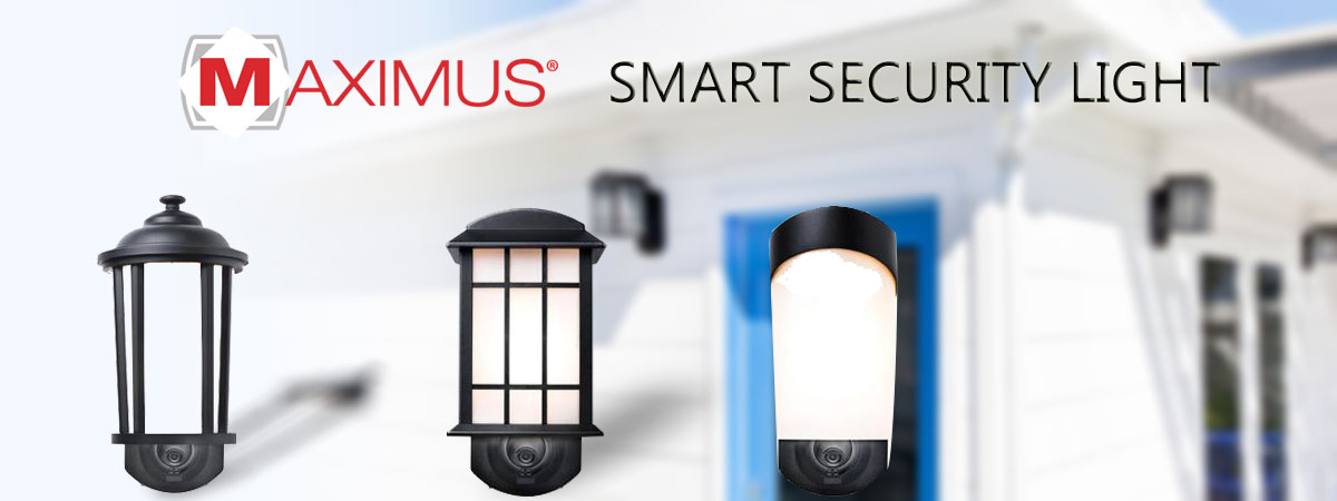 Overview Maximus Smart Security Light