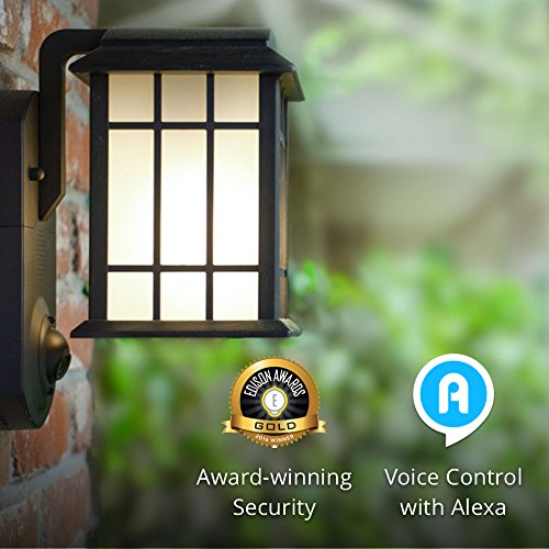 Maximus craftsman smart security outdoor light with hd camera maximus contemporary smart security light and camera aloadofball Gallery