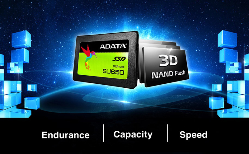 ADATA SU655 240GB 3D NAND 2.5 inch SATA III High Speed Read up to 520MB//s+New...