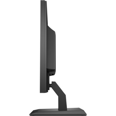 Side view of the HP P204 monitor