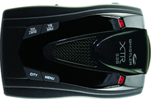 Whistler XTR-538 Laser-Radar Detector