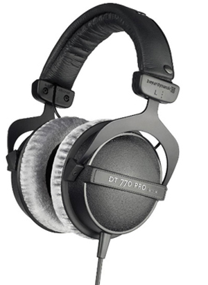 Beyerdynamic Dt 770 Pro 80 Ohm Over Ear Headphones