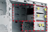 Configured 6 Drive Bays