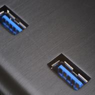 USB3.0 Multi-media I/O ports
