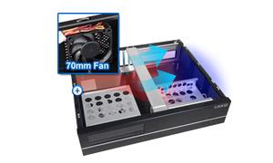 Lian Li Black Pc C37b Usb3 0 Micro Atx Media Center Htpc